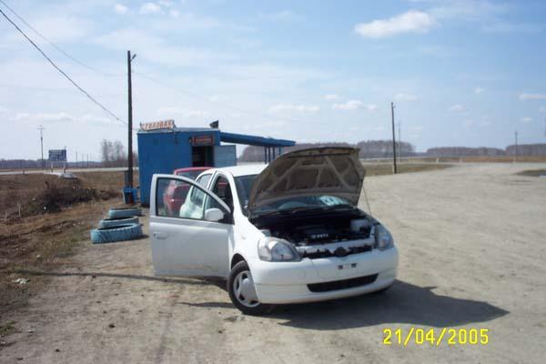 ����������� � ����� �� Toyota Vitz