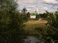 Вид на кремль через Каменку