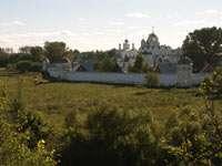 Вид на Покровский монастырь от Спасо-Евфимиевого монастыря