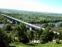 Владимир. Вид на мост через Клязьму