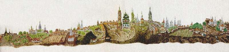 копия со старинного плана XVIII века