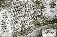 Старый план города Мурома