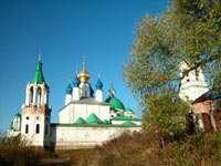 Вид на стены и Зачатьевский собор