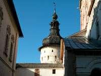 башня около церкви Иоанна Богослова