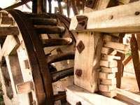Деревянные механизмы мельниц