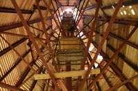 Изготовление нового купола для башни монастыря