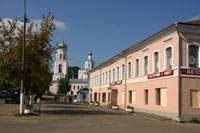 Центральная площадь города Валдай