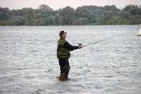 Рыбак в сумерках
