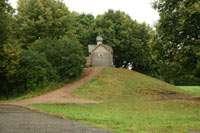 Холм, который натаскал Варлаам Хутынский, с часовней