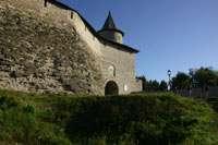 Вид на стены и Часовую башню