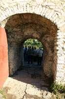 Проход у Кутекромы за стену