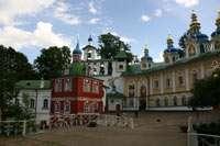 Центральная часть монастыря