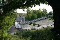 Вид со смотровой площадки на монастырь