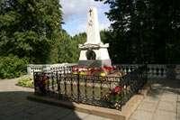 могила А.С.Пушкина