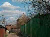 Тихие улочки внутри кремлевских стен