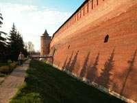 Кремлевские стены на закате