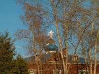Кресты Крестовоздвиженского собора Брусенского монастыря
