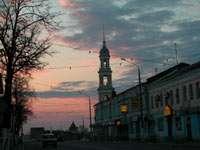 улица вечерней Коломны