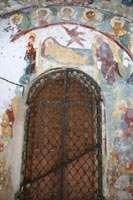 Остатки фресок на Успенском соборе