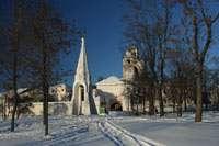 Вид на Спасо-Преображенский монастырь