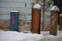 ворота жилого дома