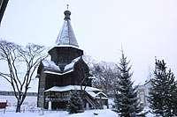 Успенская Церковь 1519 из Александро-Куштского монастыря