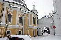 Воскресенский собор, вход в Кремль