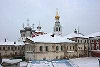 вид на Кремль с Пятницкой башни