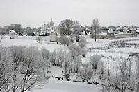 вдалеке - Покровский монастырь