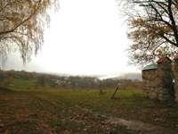 панорама с холма, где стоит Церковь