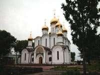 заново построенный Собор святого Николая