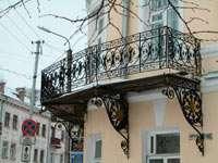 Балкон здания Дворянского собрания
