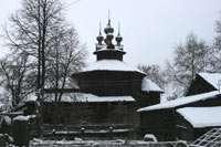 Церковь рядом с монастырем