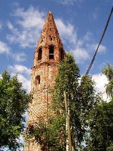Яранск. Колокольня Троицкого собора