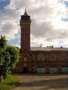 Советск. Пожарное депо