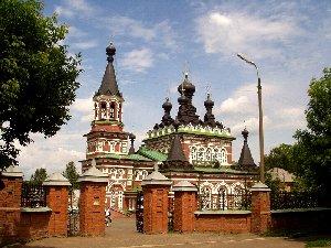Киров. Серафимовская церковь