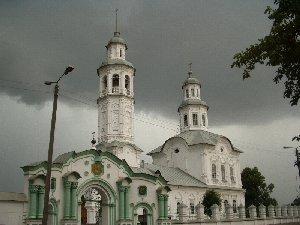 Порошино.Троицкий монастырь