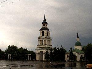Слободской. Центральная площадь
