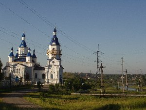 Алапаевск. Екатерининская церковь на кладбище