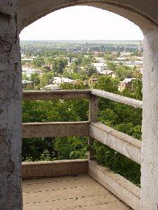 Тобольск. Вид от кремля на Нижний город