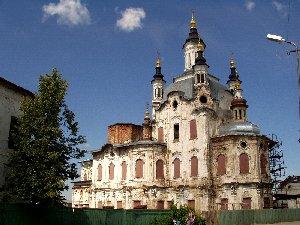 Тобольск. Храмы Нижнего города