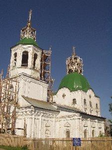 Тобольск. Церковь Петра и Павла