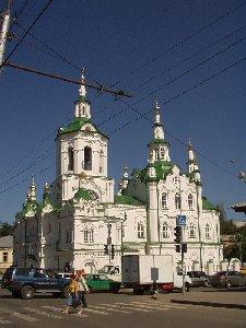 Тюмень. Спасская церковь