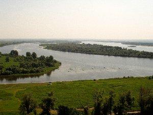 Елабуга. Вид на Каму с Чертова городища