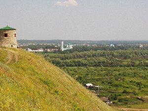Елабуга. Вид на город с Чертова городища