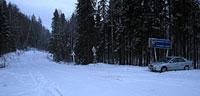 Участок трассы Р2: Архангельская область