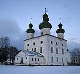 Каргополь: Церковь Иоанна Предтечи 1751 г.