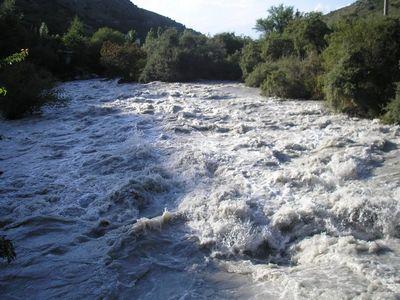Река с радоном.