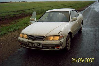 Поездка из Алматы к Черному морю и обратно на Toyota Mark II.