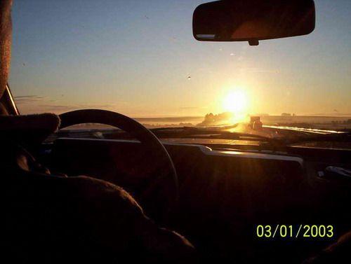 Рассвет перед Челябинском